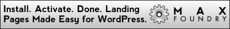 Increase sales with the landing page plugin for WordPress, by Max Foundry