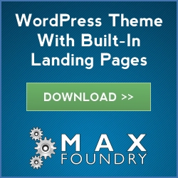 WordPress Theme With Built-In Landing Pages