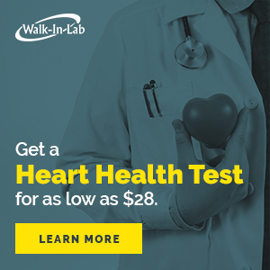 Walk-In Lab Heart Health Test
