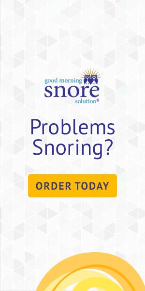 Problems Snoring?