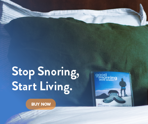 Stop snoring, start living