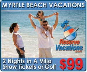 Myrtle Beach Vacation Deals
