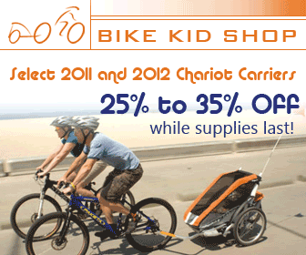 All 2011 Chariot Bike Child Trailers 20% Off