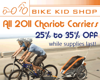 Chariot Carriers 25% off 30% Bike Kid Shop