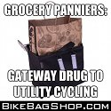 Grocery, Shopping, and Market Panniers for Bikes