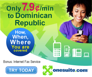 Call Dominican Republic at 7.9¢/min