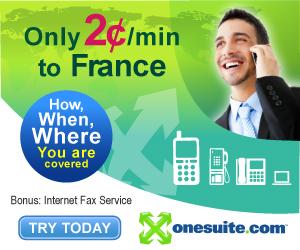 Call France at 2¢/min