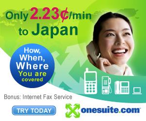 Call Japan at 2.15¢/min