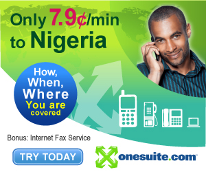 Call Nigeria at 7.9¢/min