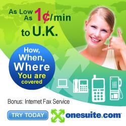 Call U.K. for 1¢/min