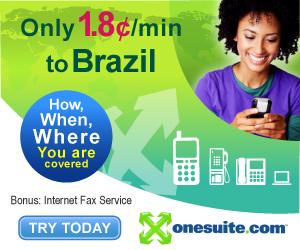 Call Brazil at 1.8¢/min