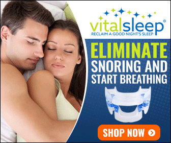 Vital sleep anti-snoring device
