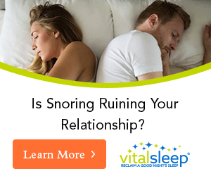 snoring ruining your relationship?