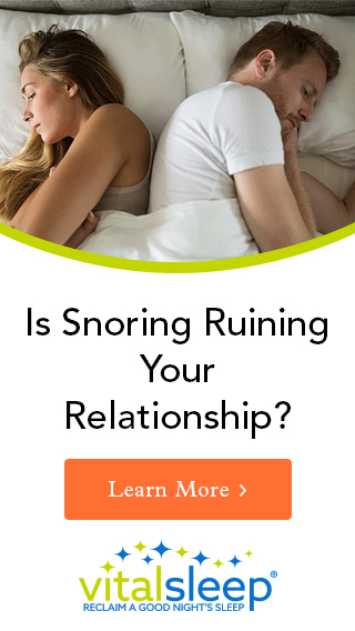 is snoring ruining your relationship - click to learn more