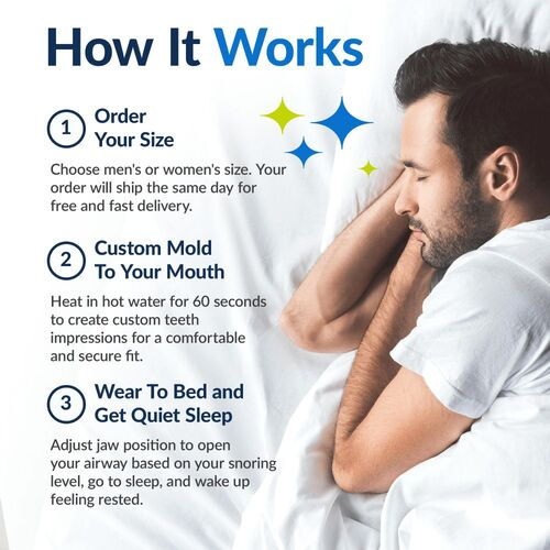 VitalSleep anti-snoring device