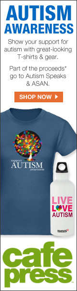 Buy Autism Tshirts and gear and a portion will be donated to Autism Speaks. Code: SPEAK