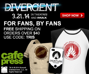 Divergent The Movie + Free Shipping on Orders of $40 or more with code TRIS