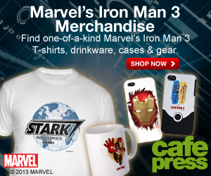 Iron Man 3 Gifts at CafePress
