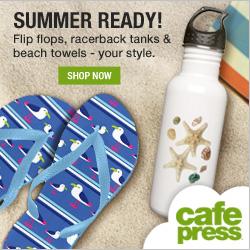Summer Ready Essentials - Beach towels, flip flops and tank tops!