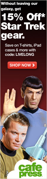 You don't have to leave the galaxy to get 15% off Star Trek gear. Use code LIVELONG to prosper.