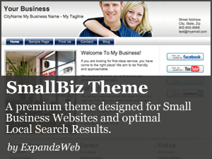 The Expand2Web SmallBiz WordPress Theme
