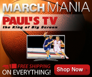 Watch all your March Madness games on a big TV