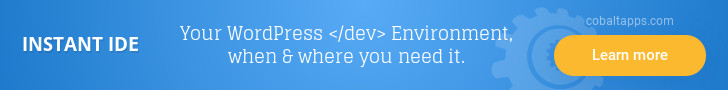 Instant IDE
