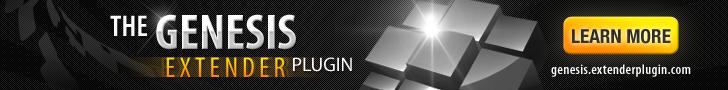 Genesis Extender Plugin