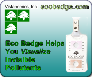 Eco Badge Ozone Test Kits