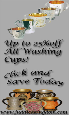 Shop for Washing Cups at Judaicakingdom.com