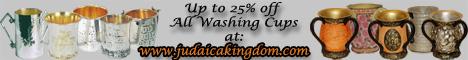 Shop for Washing Cups at Judaicakingdom.com
