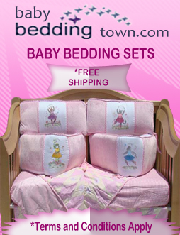 Girls Baby Bedding at Baby Bedding Town