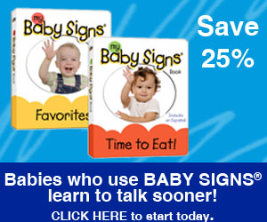 Save 25% on the Classic Baby Signs Board Books