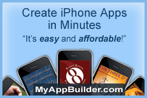 Create iPhone Apps in Minutes.