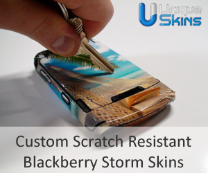 BlackBerry Storm Decorative Protector of the Day: Unique Skins