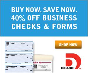 Save 50% on checks
