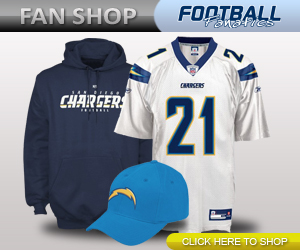 San Diego Chargers Apparel