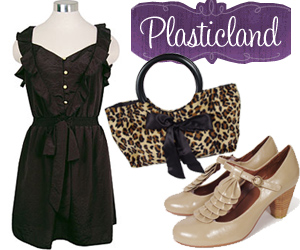 Retro Clothing, Mod Clothes, Shoes, Handbags at Plasticland