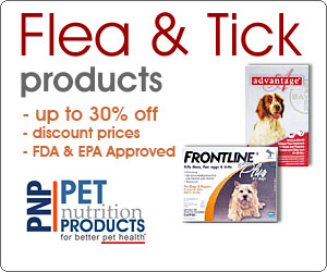 Flea and Tick Products - Fabulous Discount at Pet Nutrition Products, inc.