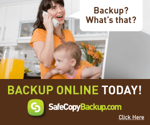 Backup Online with SafeCopy Backup
