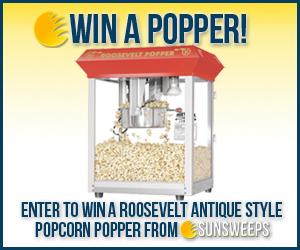 Win A Popcorn Popper