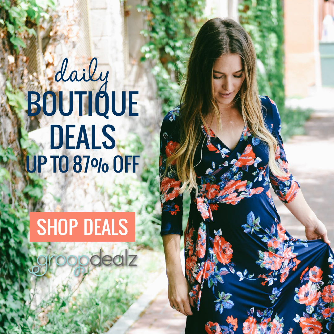 Get Daily Boutique Deals From GroopDealz | MYREGISTRYWEDDING