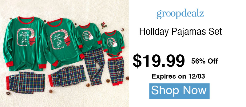 Holiday Pajamas Set