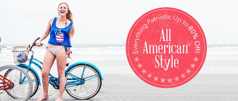All American Style | Everything Patriotic Up to 82% Off