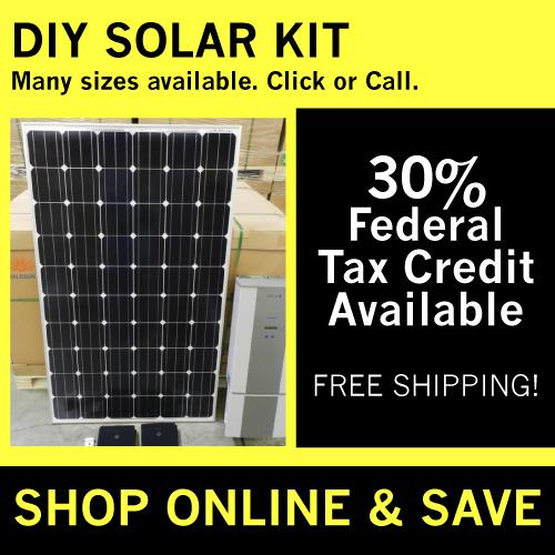 DIY Solar Kit Tax Credit