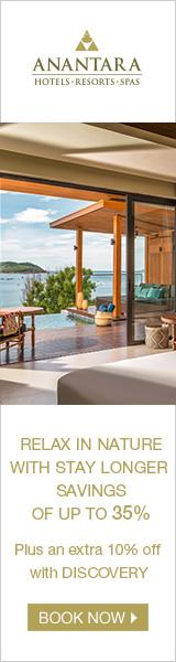 Anantara Luxury Resorts in Thailand