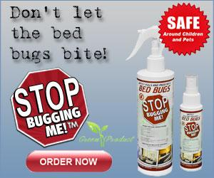 STOP BUGGING ME! Safely Skills and Prevents Bed Bugs