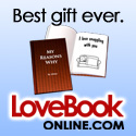 number two top gift love book online