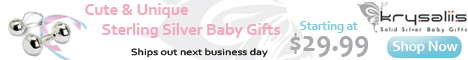 Krysaliis - Sterling Silver Baby Gifts