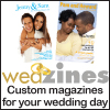 Wedzines custom wedding magazines